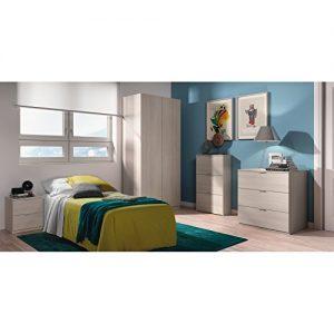 Habitdesign LC7877R Zapatero estrecho de 3 Puertas queda perfecto integrado con otro mobiliario