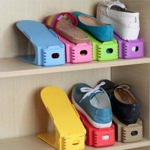 Los mejores organizadores ajustables para zapatos