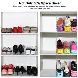 Organizador para zapatos, ahorra hasta el 50% de espacio