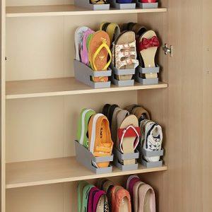 Soporte organizador para bailarinas, zapatos planos o chanclas (Análisis)