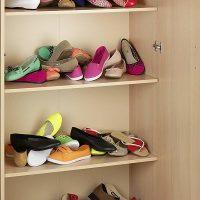 Soporte organizador para bailarinas, zapatos planos o chanclas.