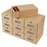 Cajas de cartón para almacenar calzado