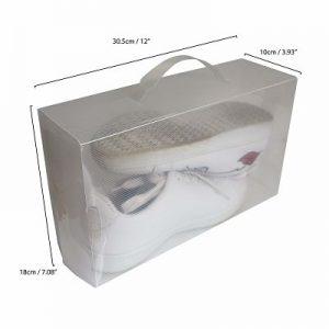 Cajas para guardar zapatos, apilables y baratas