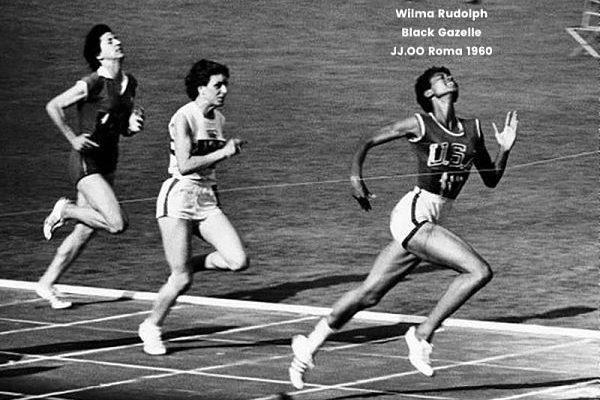 Posiblemente Wilma Rudolph con su apodo Black Gazelle dio nombre a las Adidas Gazelle
