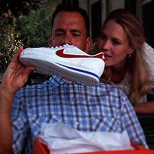 Nike Cortez en su momento de gloria en Forrest Gump