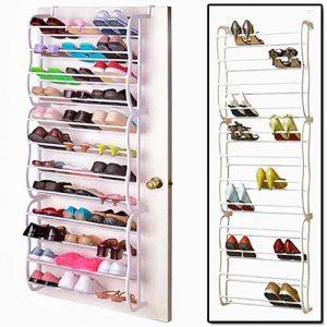 Zapatero colgante metálico con capacidad para 36 pares de zapatos