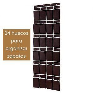 Zapatero colgante para puerta con capacidad para 12 pares de zapatos