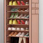 Zapatero de tela Udear con capacidad para 30 pares de zapatos