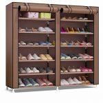 Zapatero de tela Udear para 42 pares de zapatos