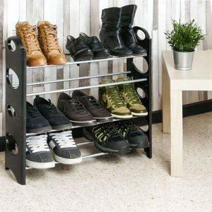 Zapatero metálico PrimeMatik para 12 o 30 pares de zapatos