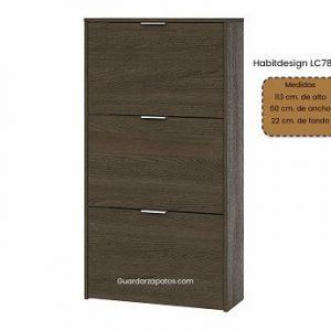 Habitdesign LC7877E con 3 puertas