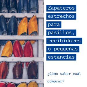 Los mejores Zapateros estrechos para pasillos para el 2019