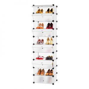 Zapatero modular Langria torre de 10 cubos