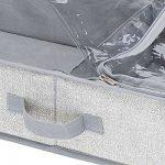 Zapatero para organizar botas bajo la cama