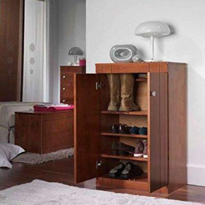 Zapatero Dogar Kubyc - Fabricado en madera maciza de pino